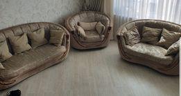 Мягкая часть , диван - 2шт, кресло.