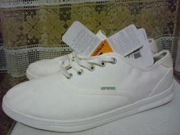 СROKS-кеды белые новые 42 размер