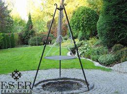 Grill ogrodowy Herman z rusztem stalowym 70cm ES-ER
