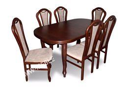 Stół + 6 Krzeseł Prosto Od Producenta! SPRAWDŹ