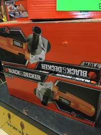Image of new black & decker angle grinder