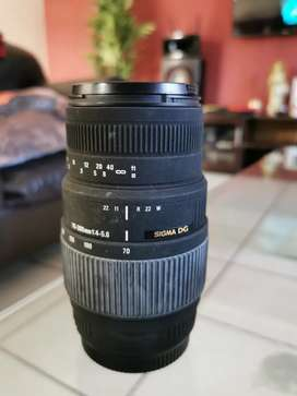 Sigma DG Telescopic Lense 70-300mm