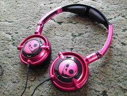 Słuchawki Skullcandy LOWRIDER Pink Black stan idealny