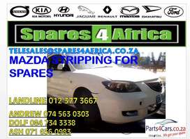 Mazda stripping for spares