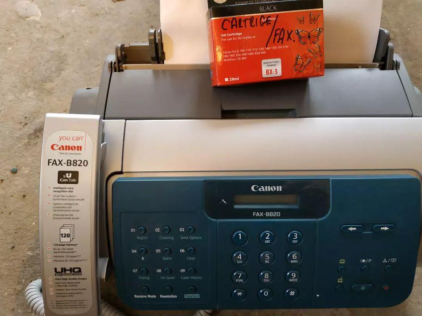 Fax canon 0