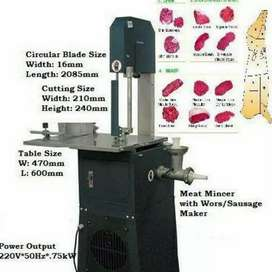 New Meatsaw Bandsaw Combo with Mincer Worsmaker