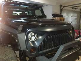 Jeep wrangler with lots off exstras
