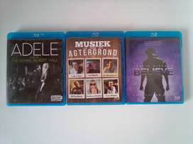 Blu-ray Music and Concert DVD's. R60 each. I am in Orange Grove.