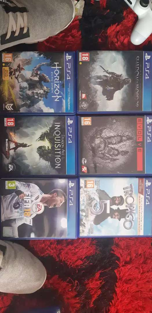 Playstation 4 games to trade or sell