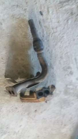 Mk1 golf downpipe and exhaust manifold