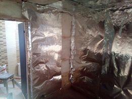 Алюминиевая фольга для бани сауны,толстая металическая
