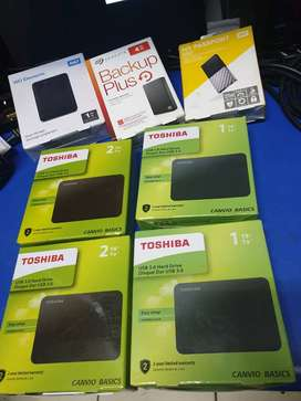 External Hard Drives Brand New Sealed at low low Prices