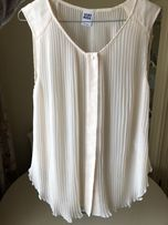 Блуза vero moda молочного кольору