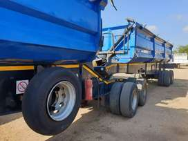 45 cube side tipper trailer for sale