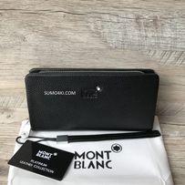 Мужской кожаный клатч Mont Blanc