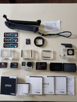 Gopro 4 Black + LCD Touch BacPac + gratis