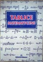 Tablice matematyczne pod red. W.Mizerskiego