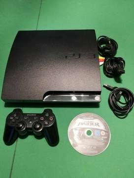 sony ps3 slim  very good condition comes with original sony controller