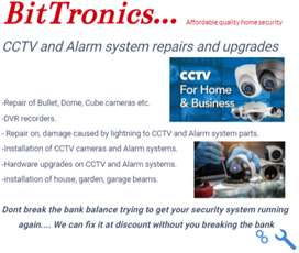 CCTV and Alarm repairs and installations