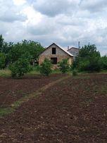 Участок 12 соток с постройкой домом с. Дачное обл. одесская от хозяев.