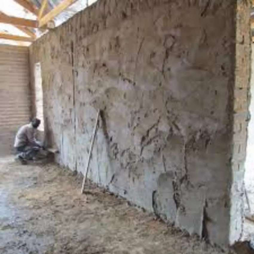 Building, plastering and painting