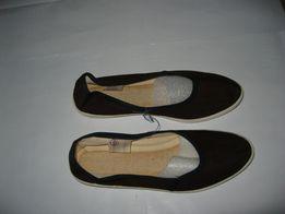 Туфли вельветовые женские размер 25,5