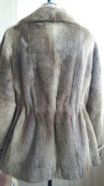 Шуба полушубок куртка натуральный мех выдры