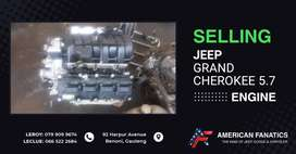 Selling Jeep Grand Cherokee 5.7 Engine