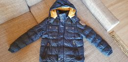 куртка зимняя на мальчика р. 152