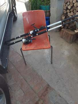 Monster reels and rods