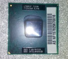 Intel Pentium DualCore T2330 Socket P 1.6GHz