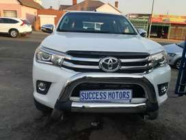 2018 Toyota Hilux 2.8 GD6  got warranty