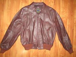 Фирменная мужская куртка. Натуральная кожа. Корея