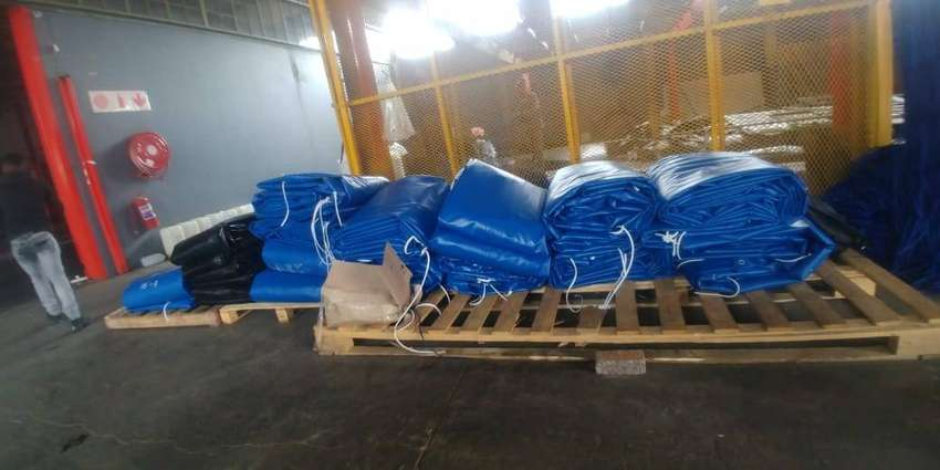 top quality pvc truck covers/tarpaulins and cargo nets for superlink 0