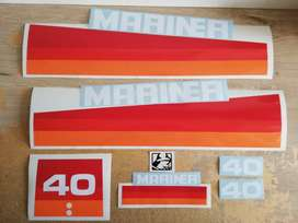 1982 Mariner 40 decals stickers vinyl cut graphics kit