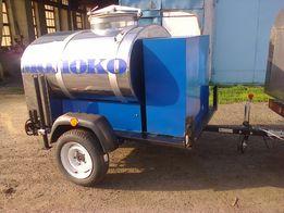 прицеп для перевозки молока, воды и других пищевых продуктов
