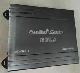 AudioGods Mono 300w RMS Amplifier. Used.
