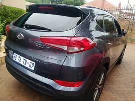 2017 hyundai Tucson with only 24000km