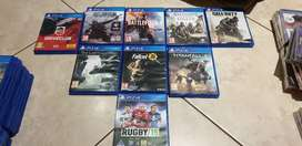 Ps4 Game packets. (Please contact if looking for a game showed)
