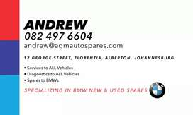 Bmw services and spares