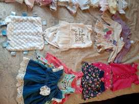 Baby girls 0 -3 months clothing second hand