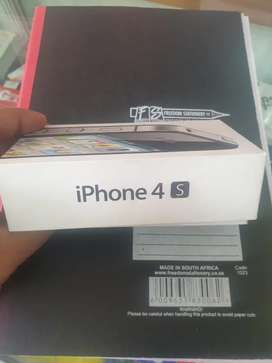 Iphone 4s with box