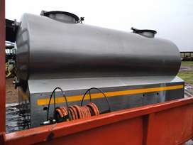 1600L non magnetic stainless steel milk tank