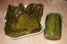 Долма на заказ,Продам консервированные виноградные листья