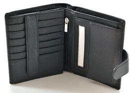 Мужской кожаный кошелек портмоне правник SТ натуральная кожа из турция
