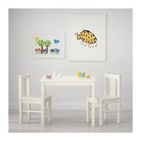 В НАЯВНОСТІ Комплeкт дитячий KRITTER IKEA (стіл+стільчик) столик, стул