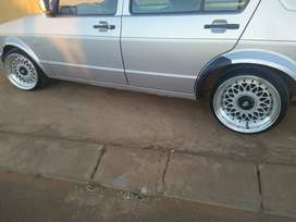 "15"" Porche Mesh Rims with Tyres For Sale"