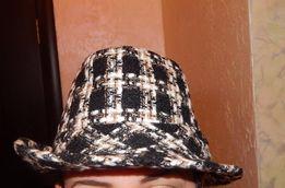 шляпа женская с шарфом НЕСЕКОНД ХЕНД