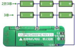 3S BMS 20A Li-ion układ zabezpieczający 18650 balanser ładowarka