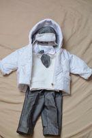 Ubranko do chrztu dla chłopca 68 cm